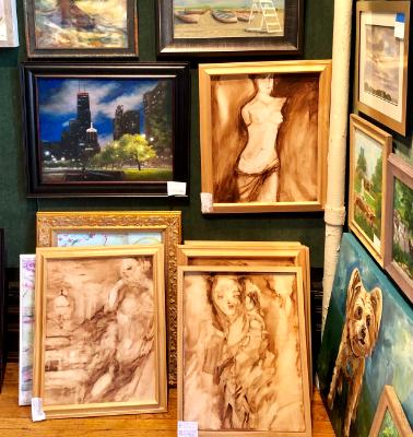 Palette and Chisel Renaissance - Susan Anne Russell