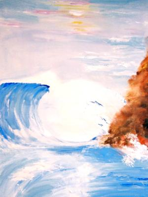 terrible beauty of the wave