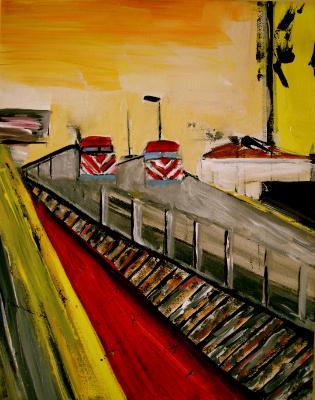 Metra Train SOLD
