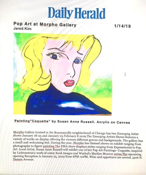 Daily Herald 2019 Morpho Gallery Pop Art