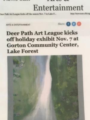 Deerpath Gallery- News Sun 2014