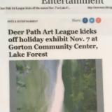 Deerpath Gallery- News Sun 2014