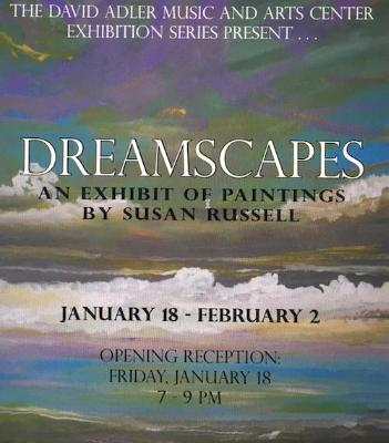 Solo Show Dreamscapes Poster 2012