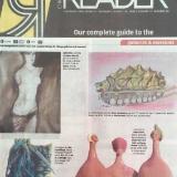 Chicago Reader Solo Show Oxala Gallery Pilsen 2008- Aphrodite
