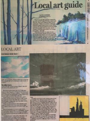 Local Art Lake County Journal-Adler 2013