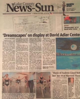 News Sun: Dreamscapes Solo Show 2012