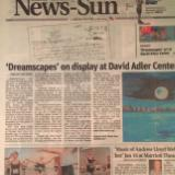 News Sun: Dreamscapes Solo Show 2012