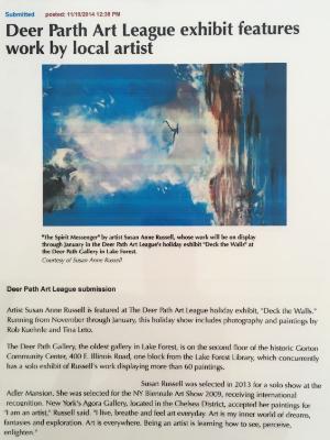 Daily Herald 2014 -Spirit Messenger
