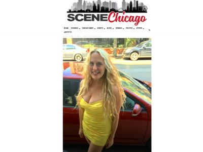 Scene Chicago Magazine  Solo Show April 2019 Winnetka