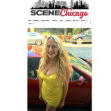 Scene Chicago Magazine  Solo Show April 2019 Winnetka